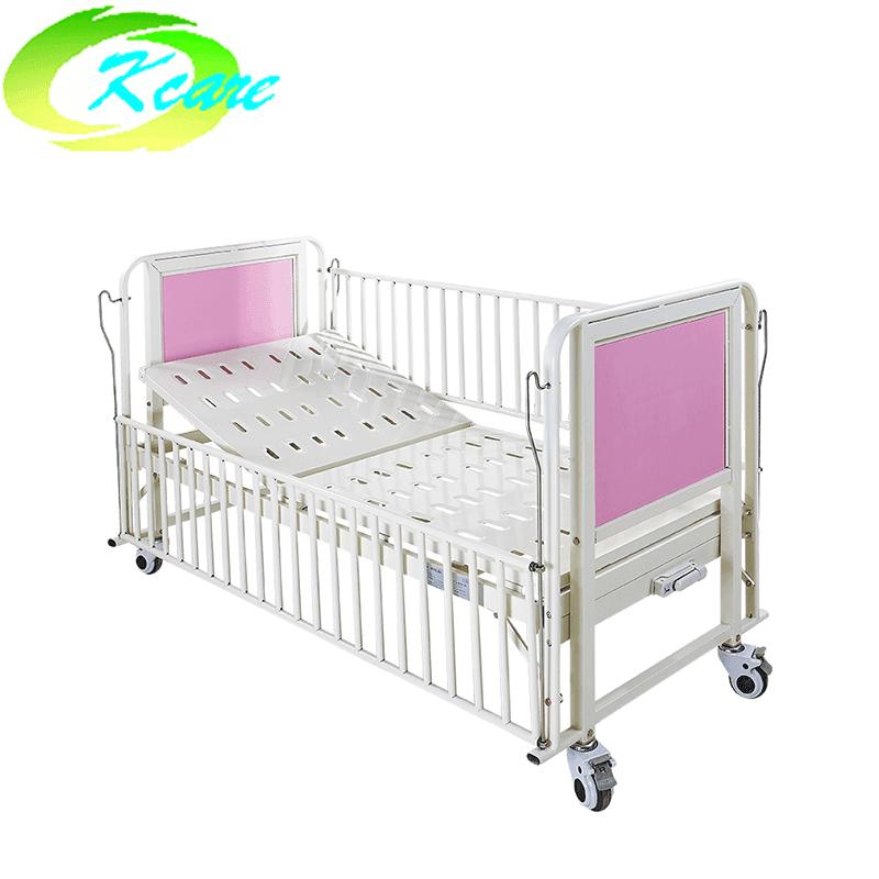 Manual One-Crank Hospital children bed with backrest function KS-915