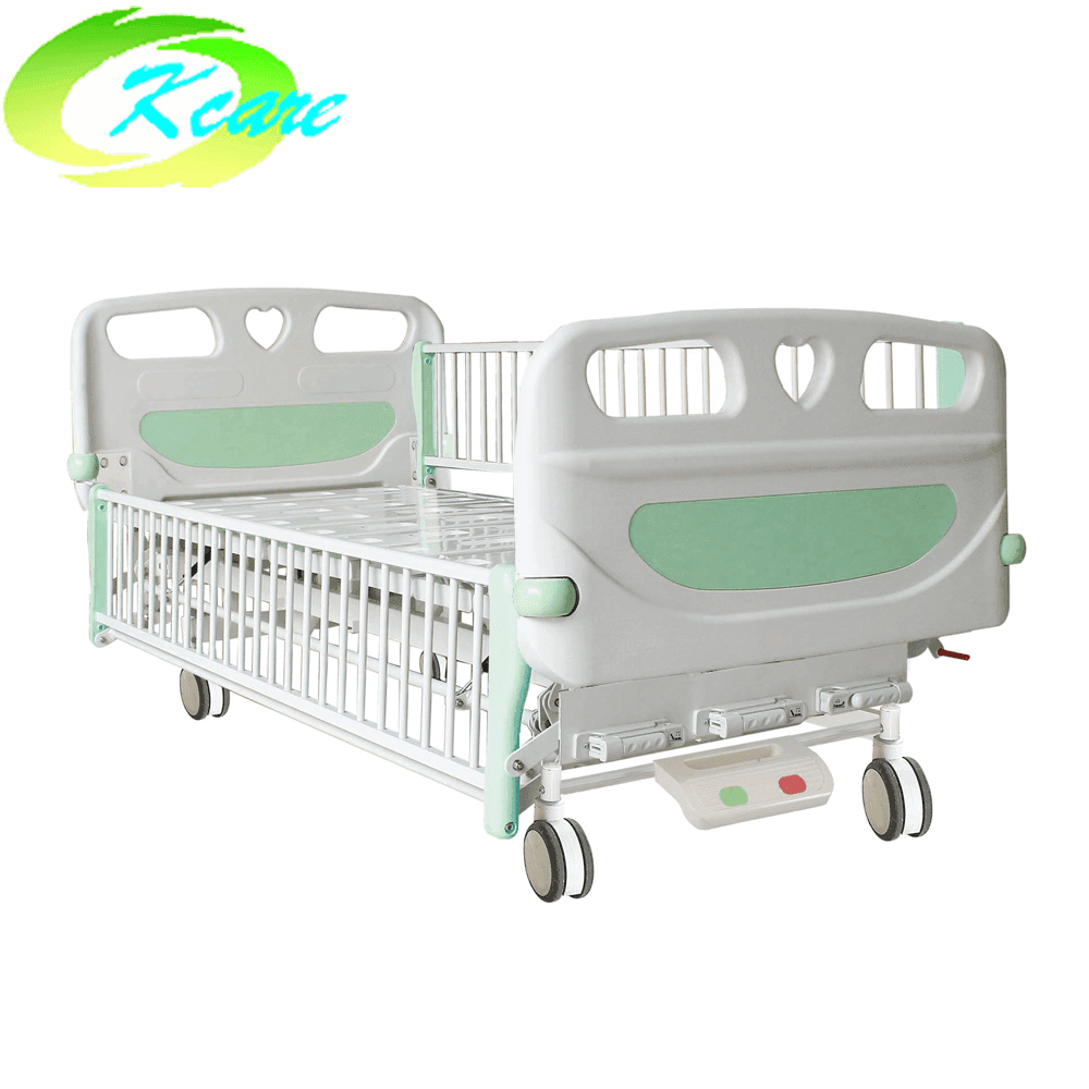 Central Lock Castor Manual 2-Cranks Hospital Children Bed KS-S201et