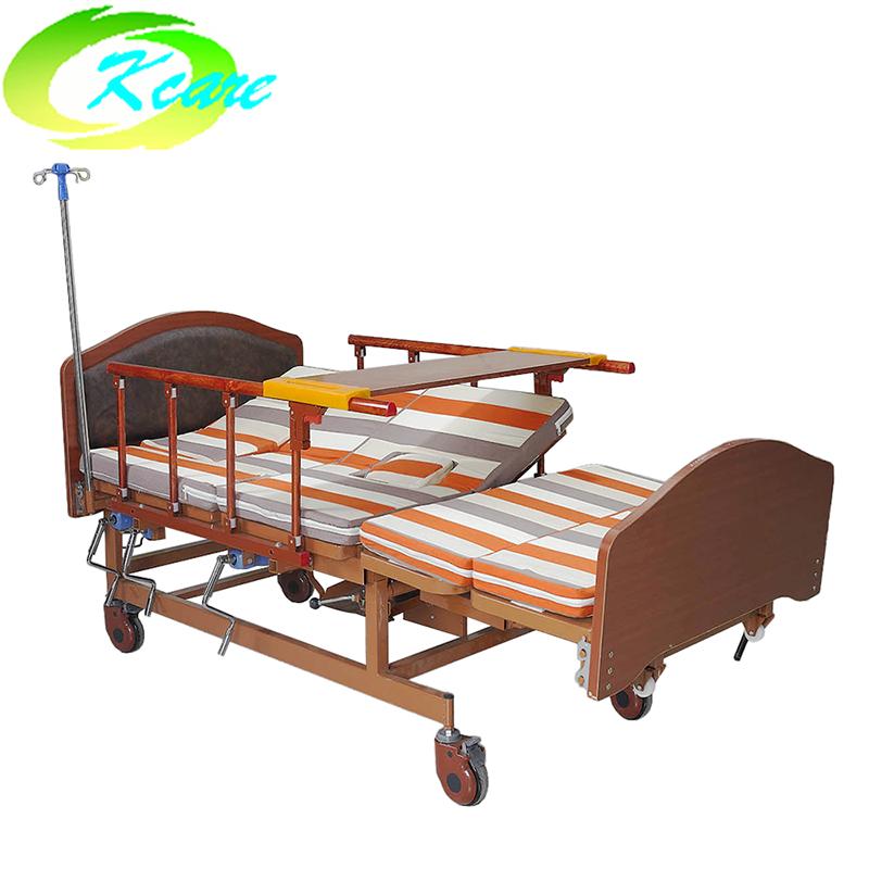 Multi-Function Manual Hospital Nursing Bed for Elderly KS-S402fs