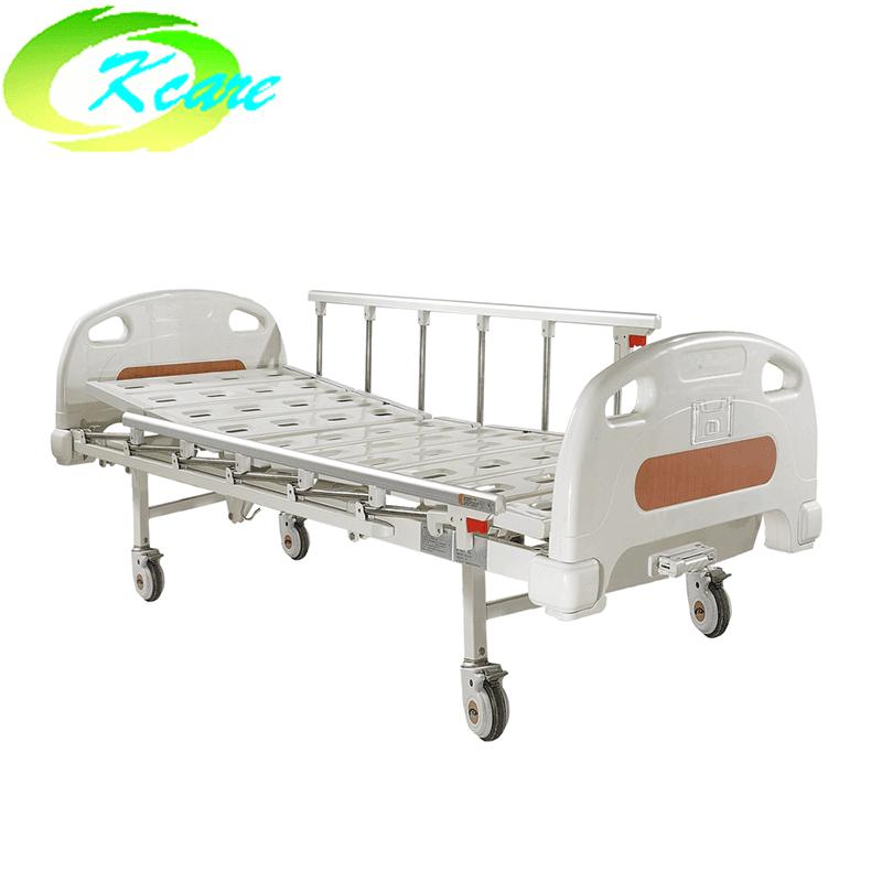 Luxury Castors One Crank Manual Medical Hospital Bed KS-102yh