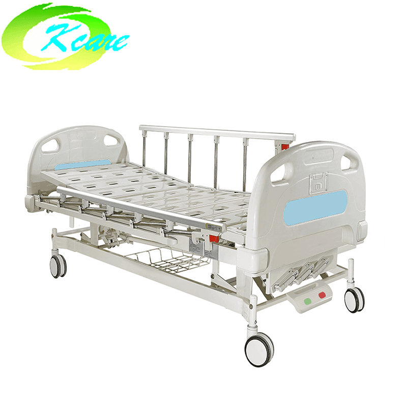 Central Lock Manual 3 Crank Patient Hospital Bed KS-301yh