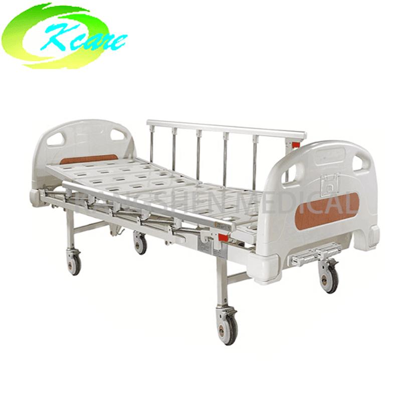 Luxury Castors Manual 2 Cranks Medical Hospital Bed KS-332