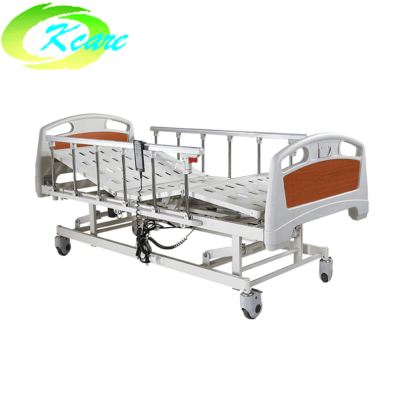Deluxe Castor Three Functions Electric Hospital Bed KS-828a