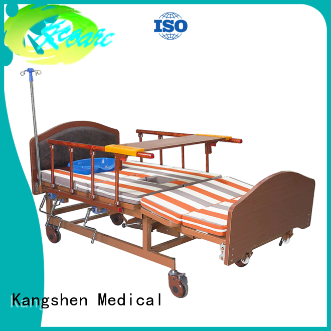 hospital home multidunction Kangshen Medical Brand electric adjustable beds for the elderly factory