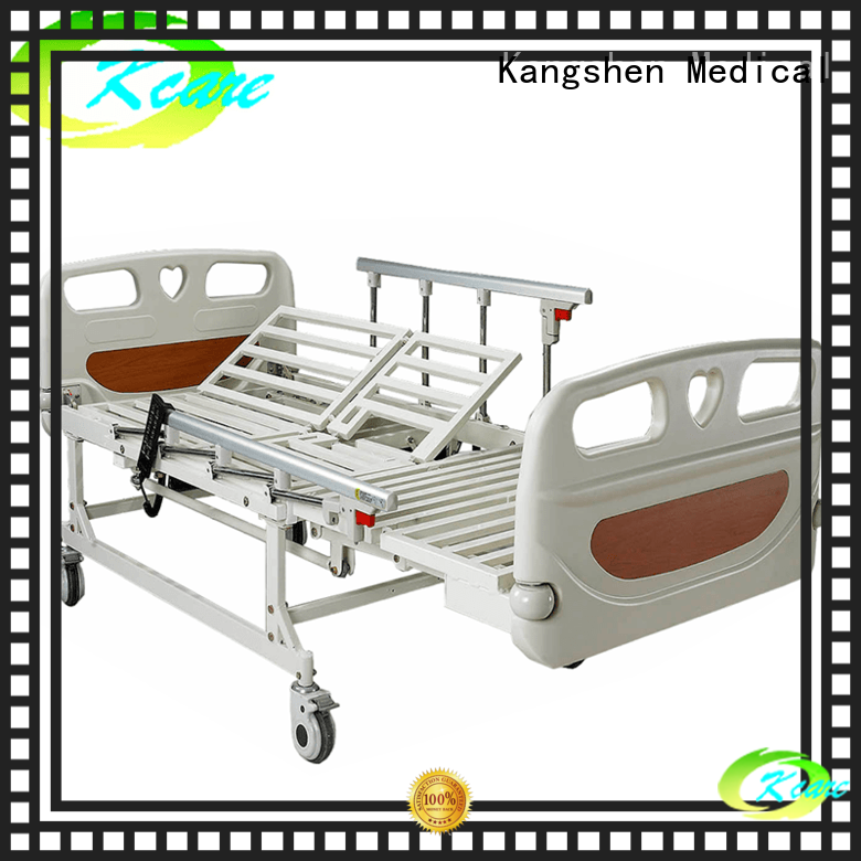 stainless steel beds for elderly patients factory price for infirmary Kangshen Medical