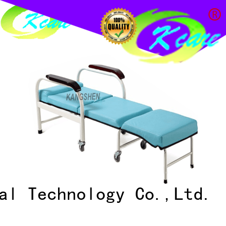 Kangshen Medical multi-functional convertible accent chair bed new arrival for patient