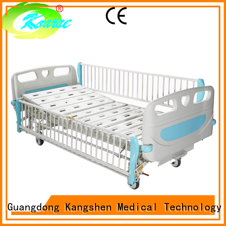 Kangshen Medical children hospital baby bed plywood for patient