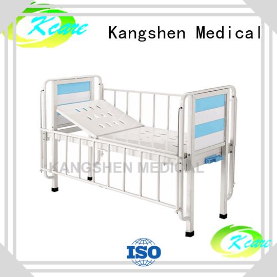 Kangshen Medical popular hospital baby cot tilting dining table