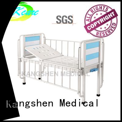 Kangshen Medical backrest children's hospital beds plywood dining table