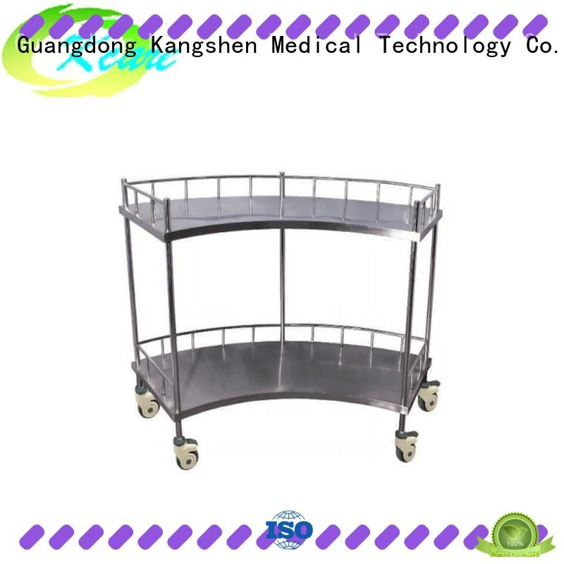 Kangshen Medical recycling medical computer carts on wheels multi-functional at discount
