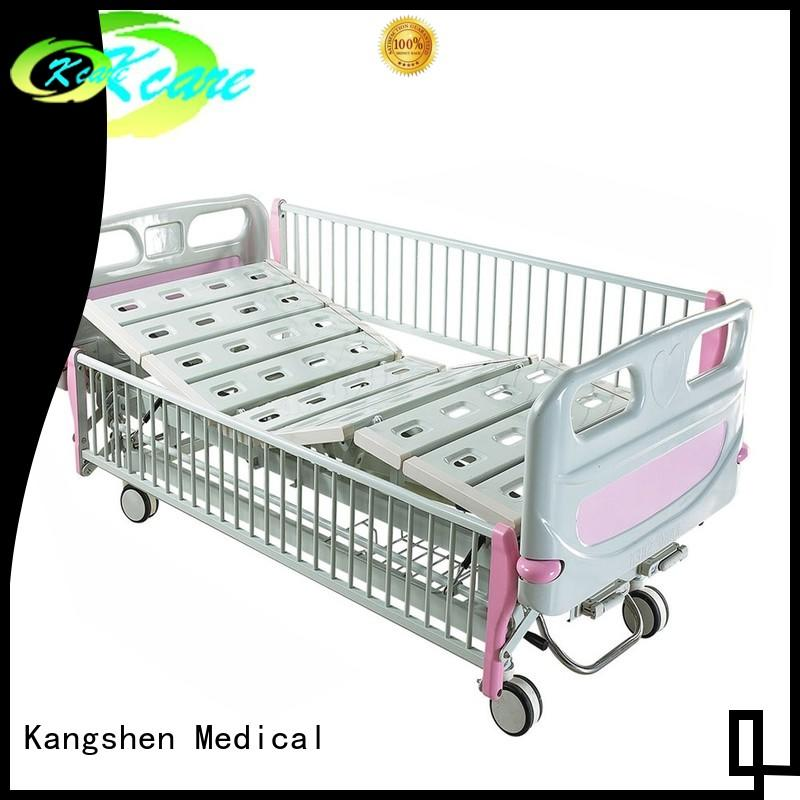 Kangshen Medical Brand cranks children's hospital beds bed factory