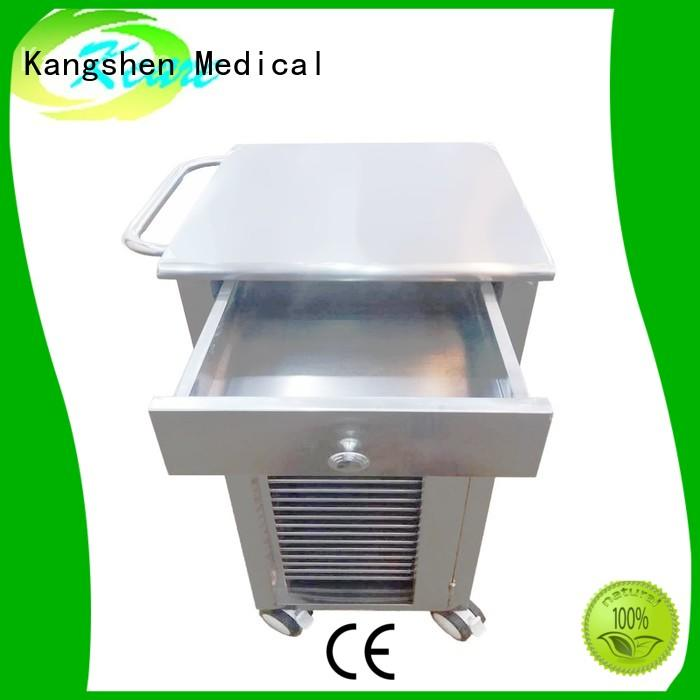 Kangshen Medical recycling medical computer carts on wheels multi-functional for infirmary