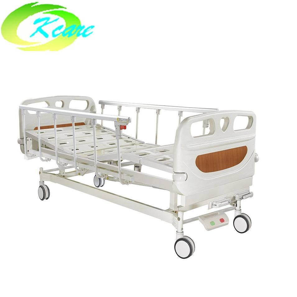 New Design Metal Folding Manual Hospital Bed for Patient Room KS-S207yh