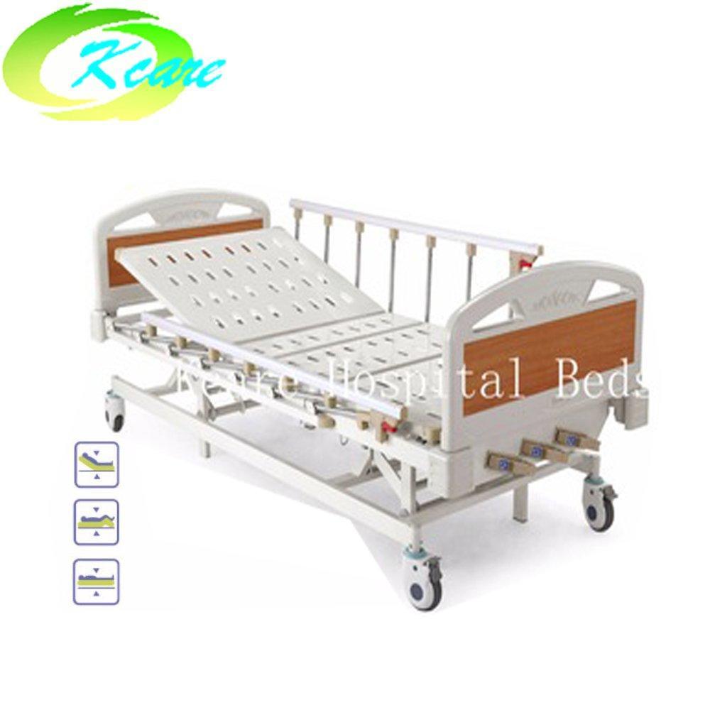 Manual 3 Cranks Medical Hospital Patient Bed KS-632