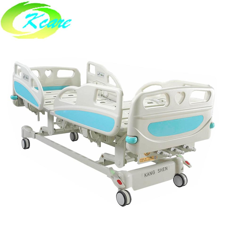 Latest Design Adjustable Manual Nursing Bed Hospital Care with 3 Functions KS-S303yh
