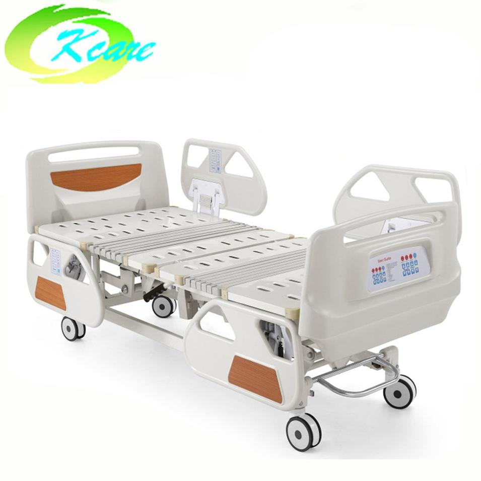 Deluxe Five Functions Electric ICU Hospital Bed With Cpr KS-838a