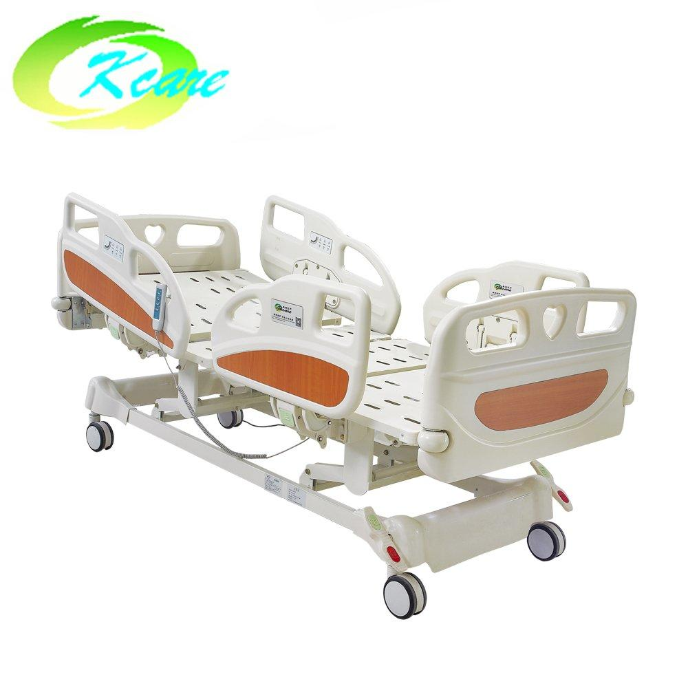 Adjustable Linak Motor Three Function Electric Medical Rotating Hospital Bed with PP Guardrail GS-828(a)