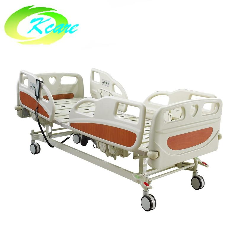 ABS Two Functions Electric Medical Hospital Bed with PP Side Rail GS-818(a)