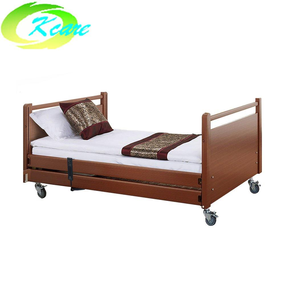 General used two-function manual home care bed for elderly KS-S203jh