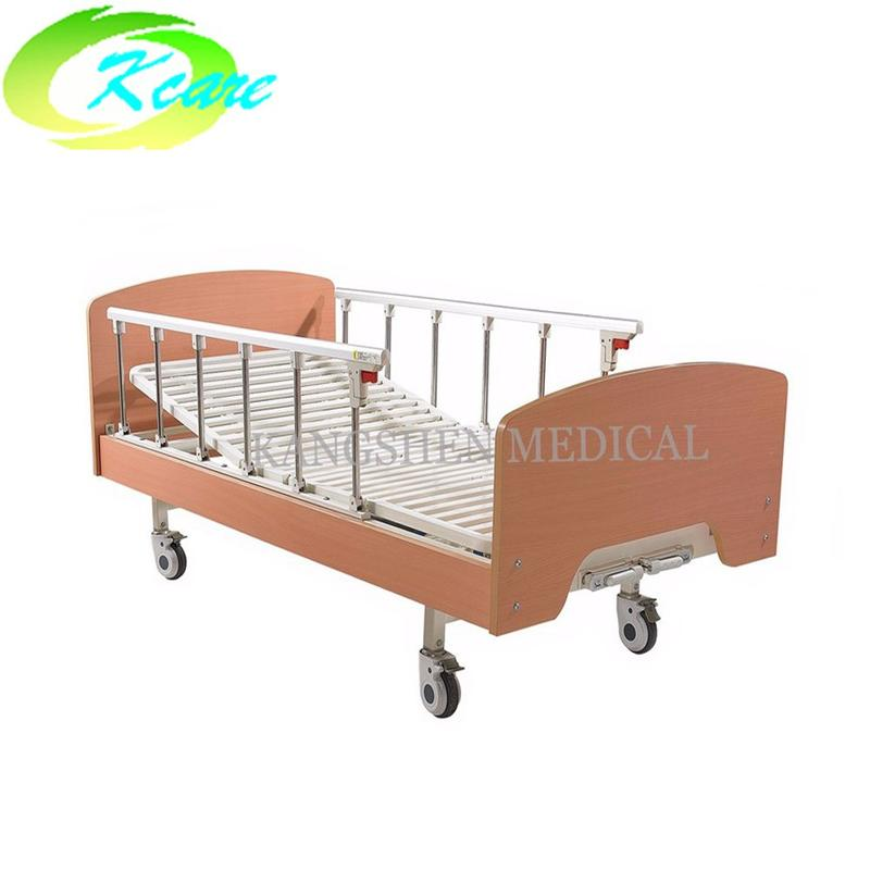Best two-function manual home hospital bed for elderly KS-342-2