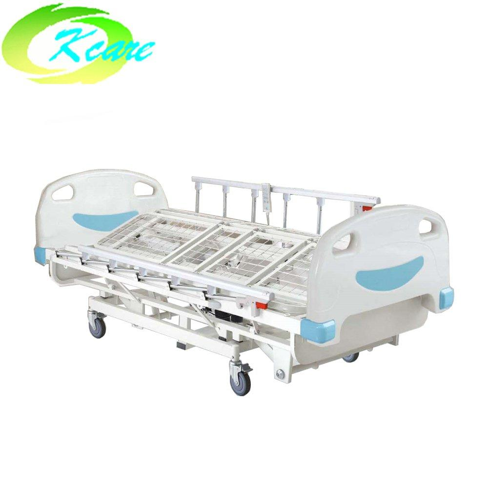 ABS  three cranks manual medical hospital rolling care bed for sale KS-1033