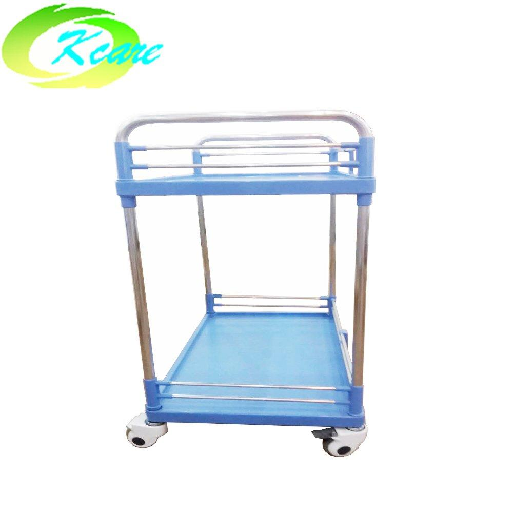 Commercial furniture general use and hospital steel treatment trolley for sale KS-202