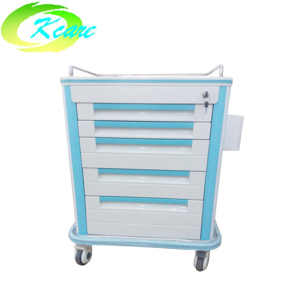 luxurious abs hospital medical medicine trolley for sale KS-860AL