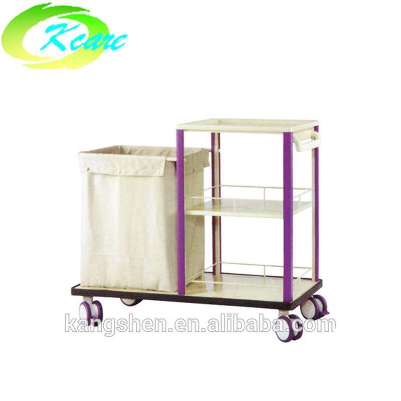 Deluxe Medical Linen clean Trolley cart KS-B35a