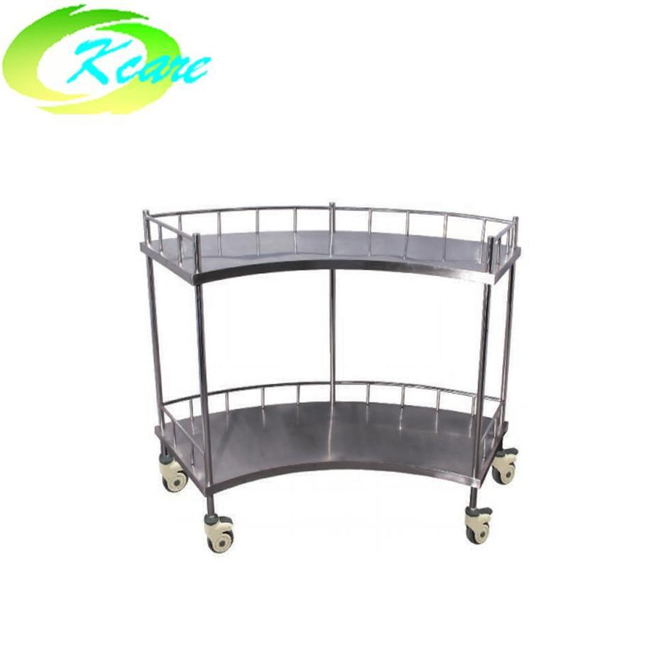 S. S Hospital Furniture Scalloped equipment Trolley KS-B09