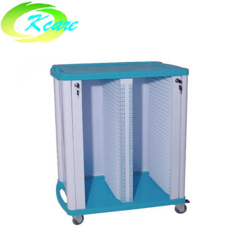 Hospital ABS Paitent Record Trolley KS-C01a
