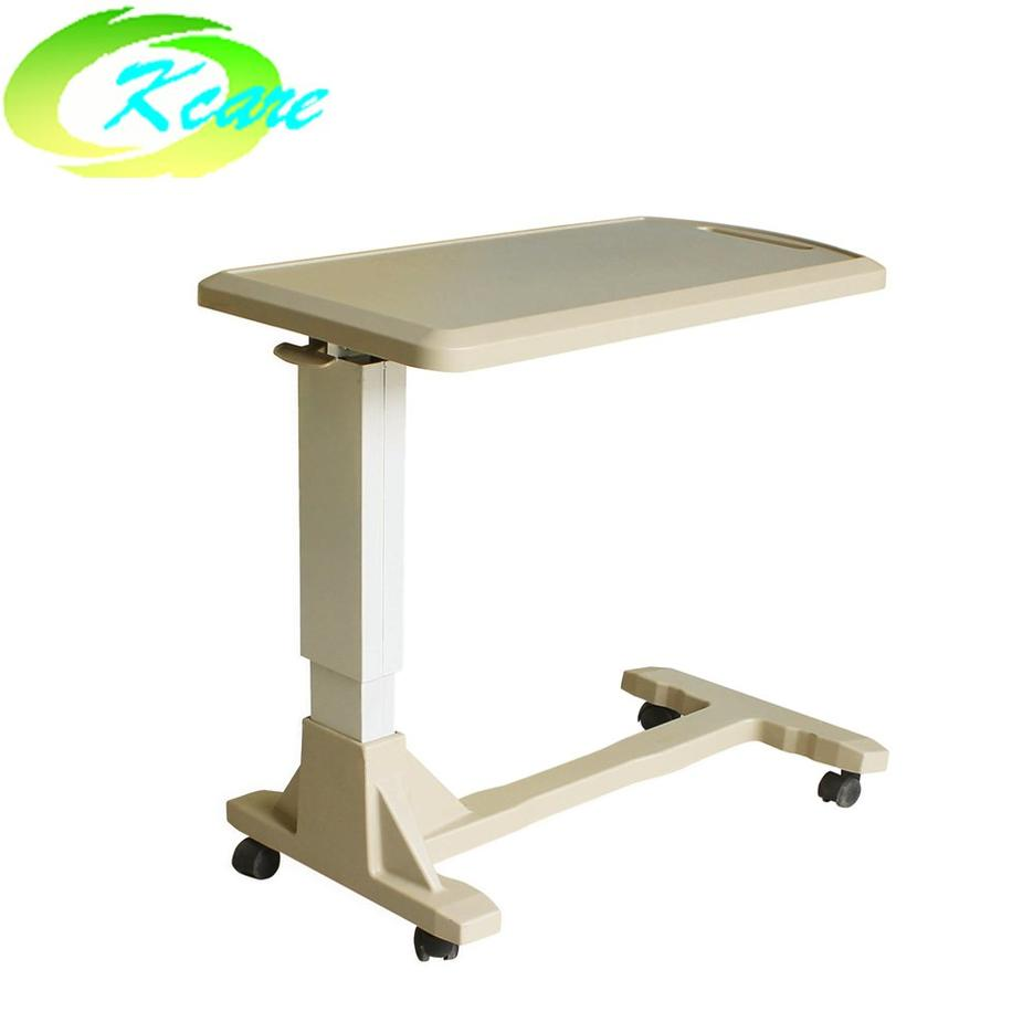 Top quality adjustable  abs  hospital over-bed table KS-D05