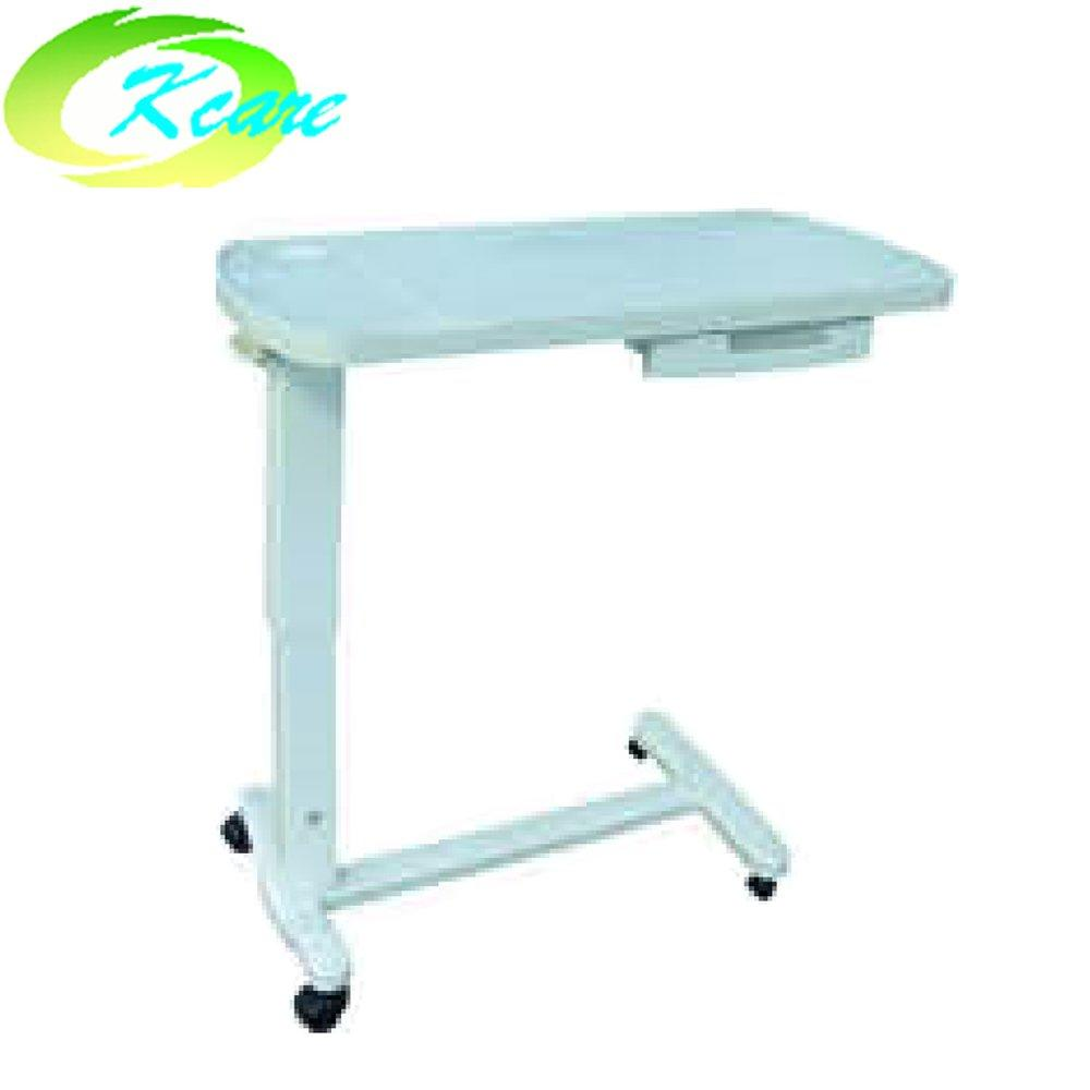 ABS hospital overbed table with cabinet KS-D05e