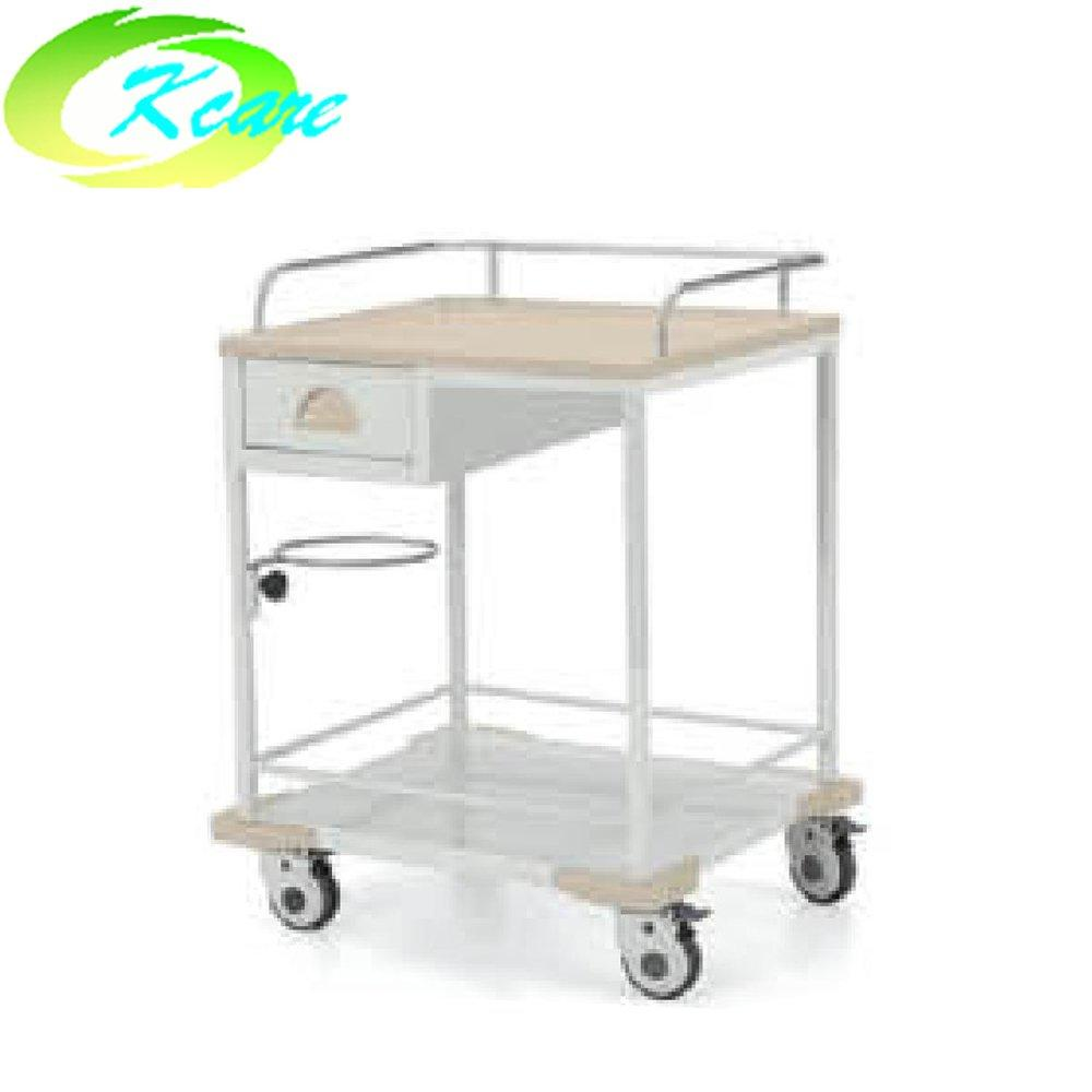 Steel single drawer hospital treatment trolley KS-B13a