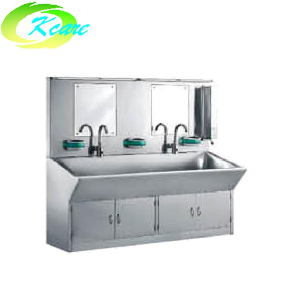 Stainless steel hospital luxurious automatic washing sink KS-C05