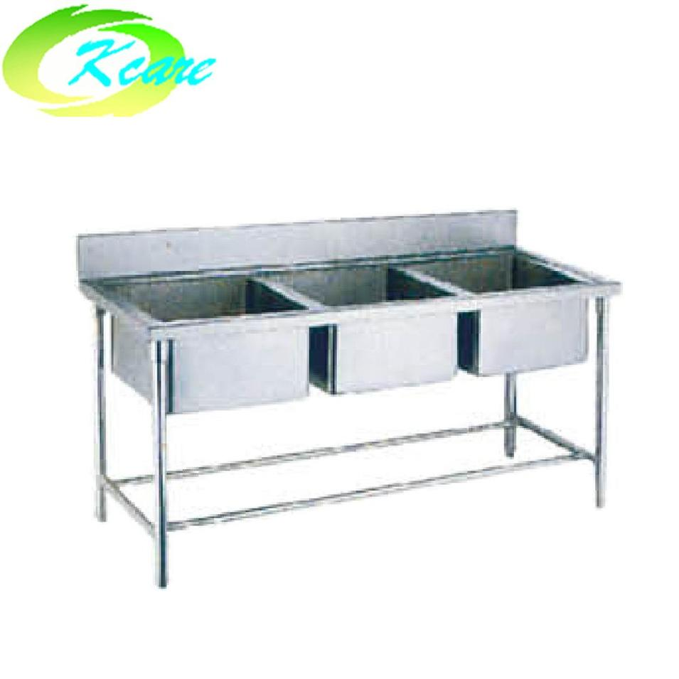S.S washing unit with three sink KS-C06a