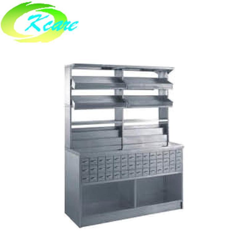 Stainless steel hospital  single-face medicine cabinet KS-C17b