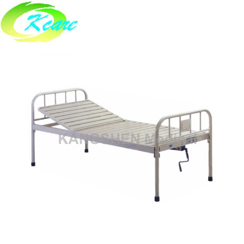 Full steel one-crank hospital bed KS-216