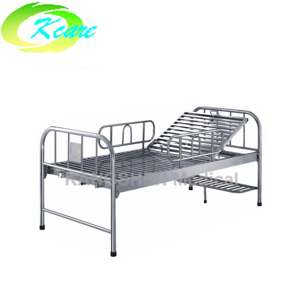 Kangshen Medical S.S.  adjustable single crank manual hospital bed with KS-213 S.S. Hospital Bed image29