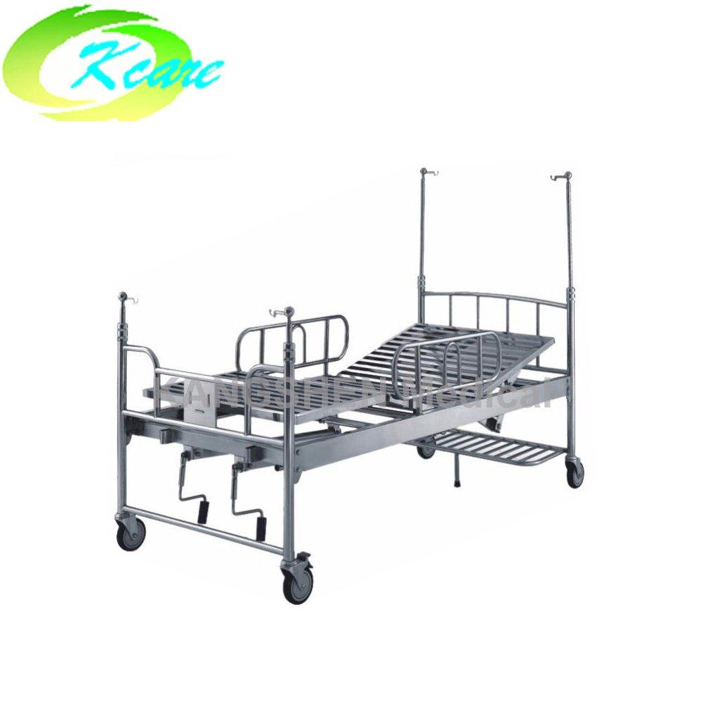 S.S.  adjustable medical bed with two cranks KS-322
