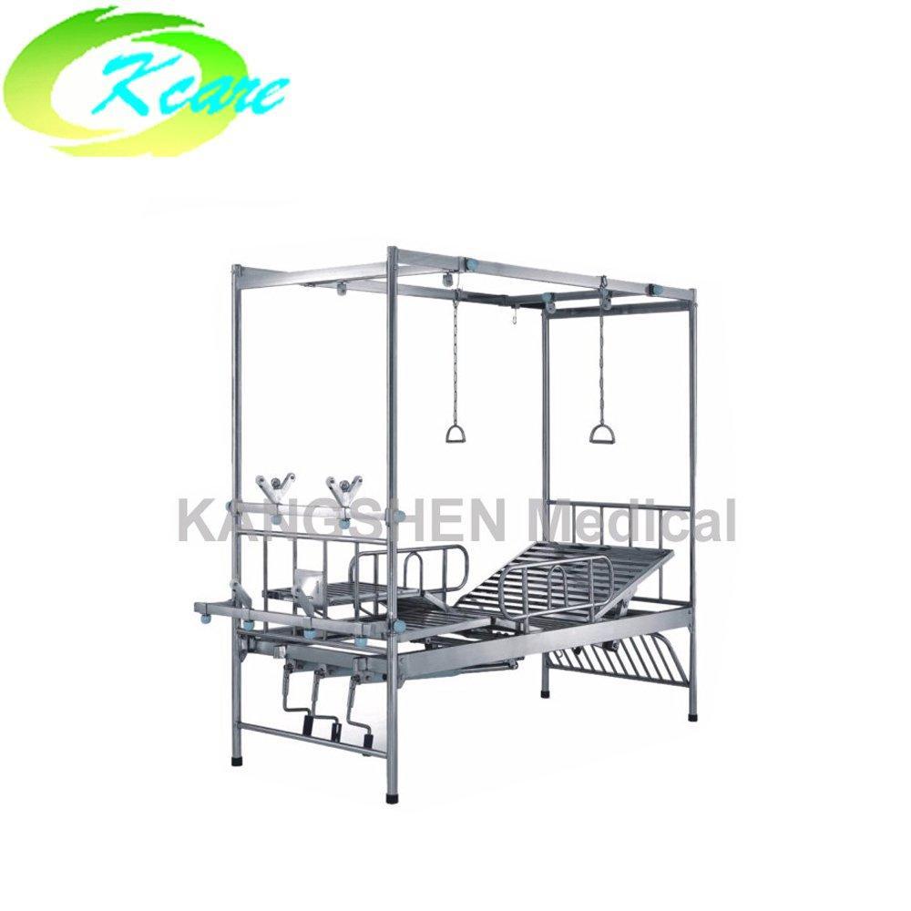 S.S. 2-crank manual hospital orthopedics bed KS-522