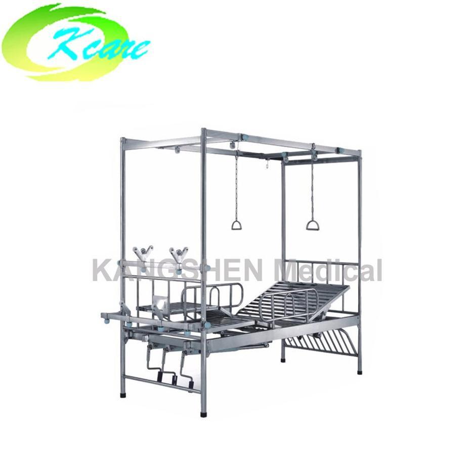 S.S. 3-crank manual hospital orthopedics bed KS-532