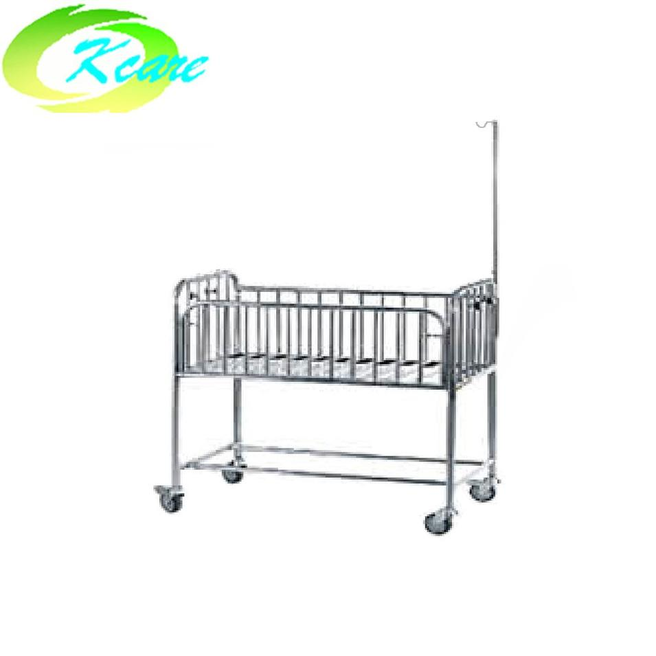 Stain steel hospital baby bed KS-A21