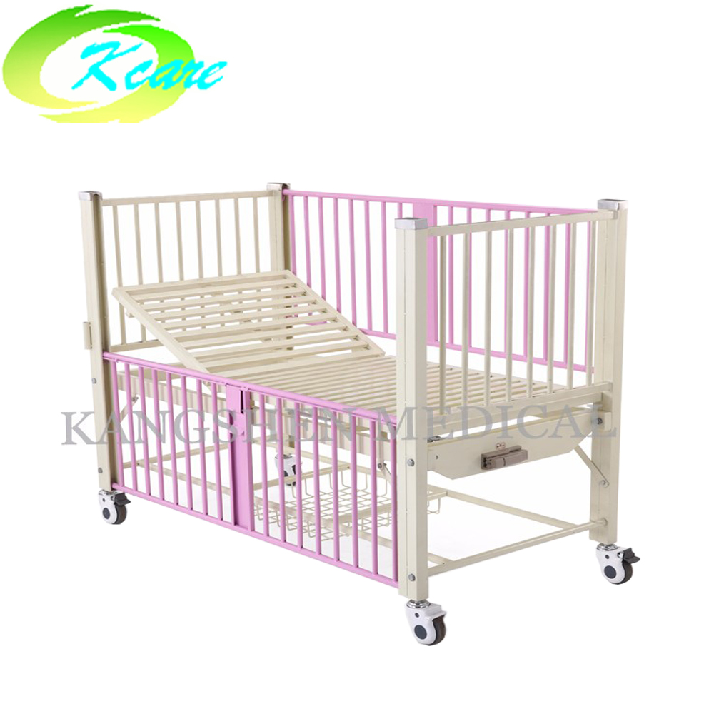 Kangshen Medical Steel manual one-function children bed for hospital KS-911 Hospital Beds for Children image15