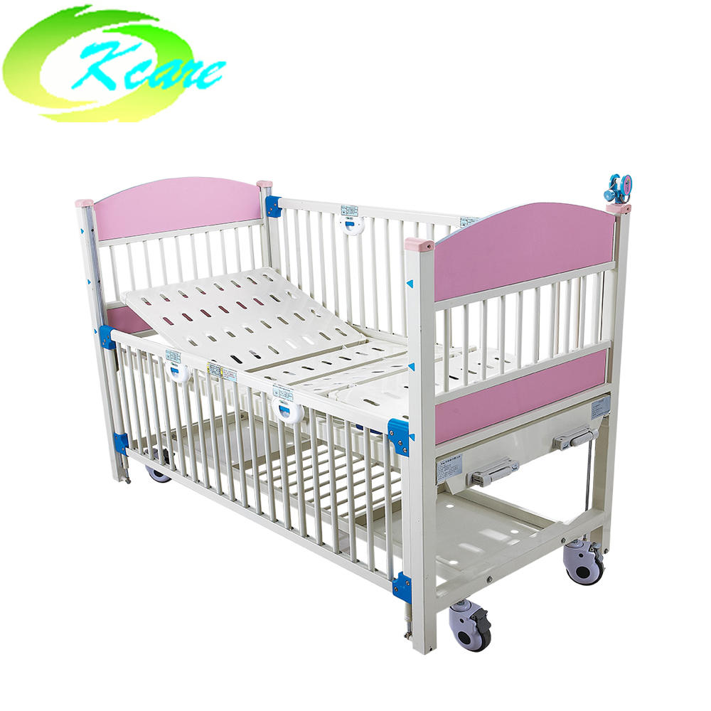 Two-crank manual luxury hospital children bed KS-911-2