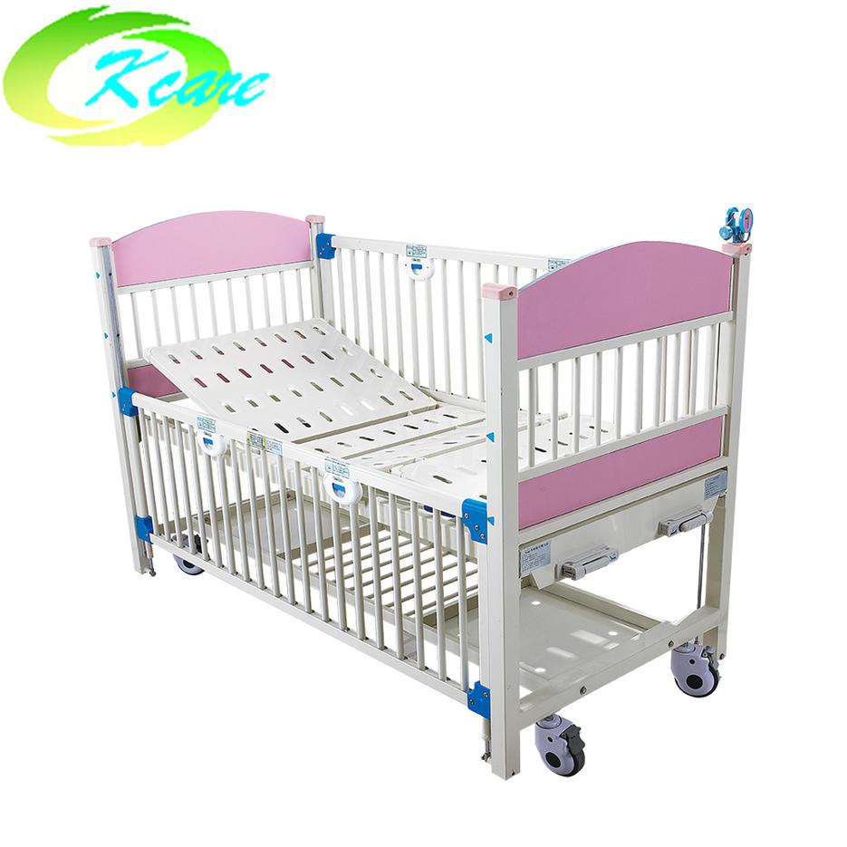 Two-crank manual luxury hospital children bed KS-911-2