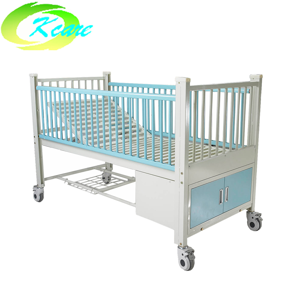 Kangshen Medical Two-function manual hospital children bed with 2 crank KS-S205et Hospital Beds for Children image13