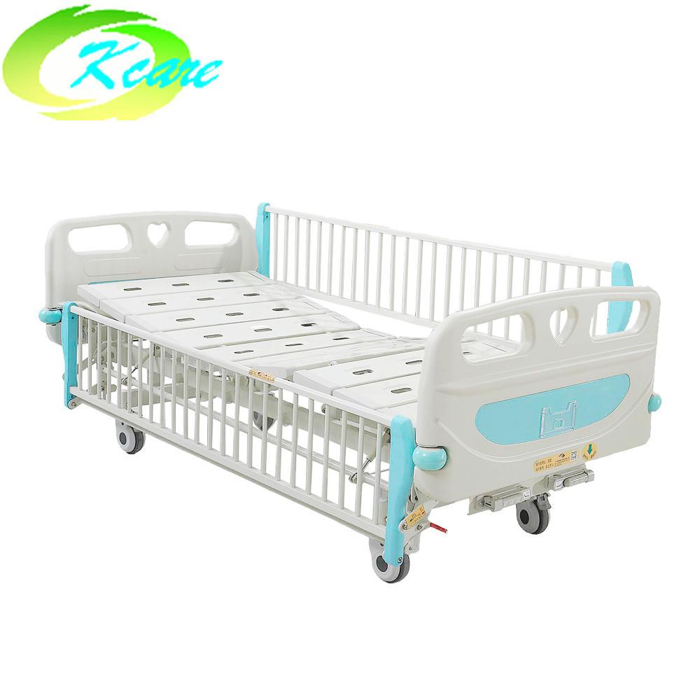 deluxe castor manual 2 cranks hospital children bed ks s201et