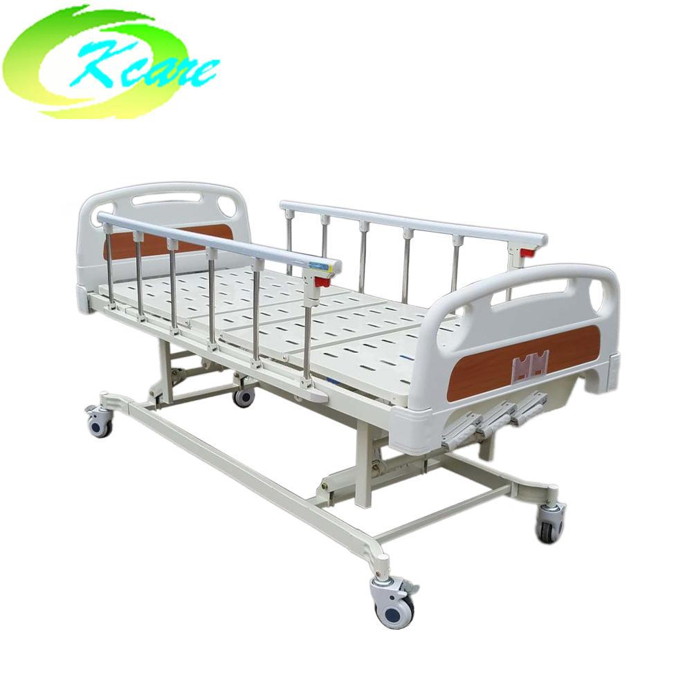 Manual hospital bed icu bed with three crank KS-632-1