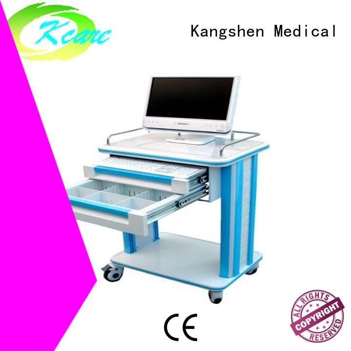 Kangshen Medical anesthesia hospital crash cart deluxe for emergency