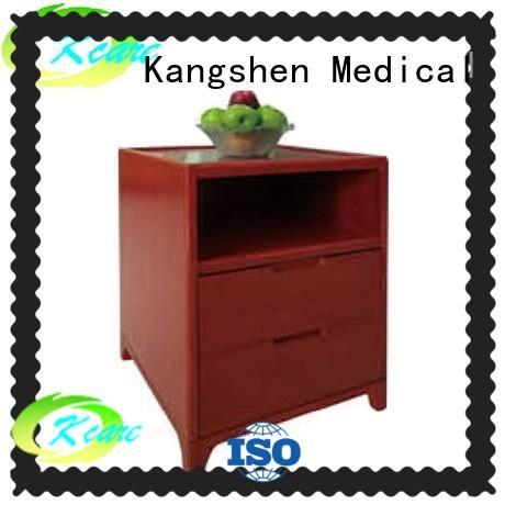 medical cabinet wooden bedside cabinets furniture for customization Kangshen Medical